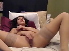 Horny Latina Teen Fingering And Toying
